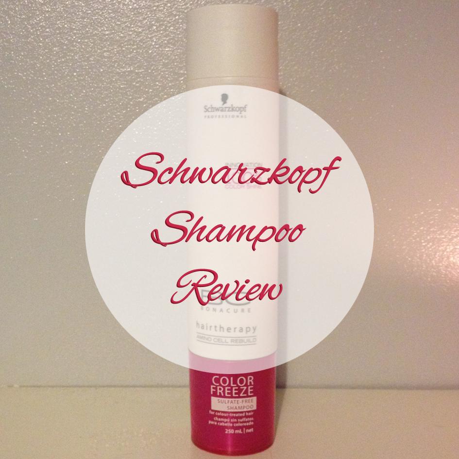 Schwarzkopf Bonacure Sulfate Free Shampoo Review Rachwat